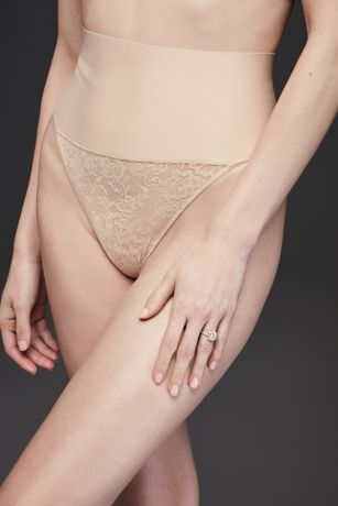 Maidenform Body Shaping Wide-Band Thong Panty