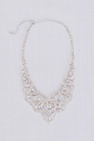 Crystal Tiara Looping Necklace