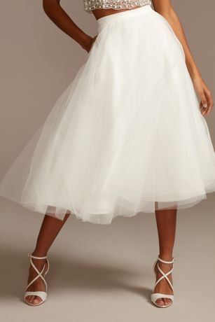 Short Separates Wedding Dress - DB Studio