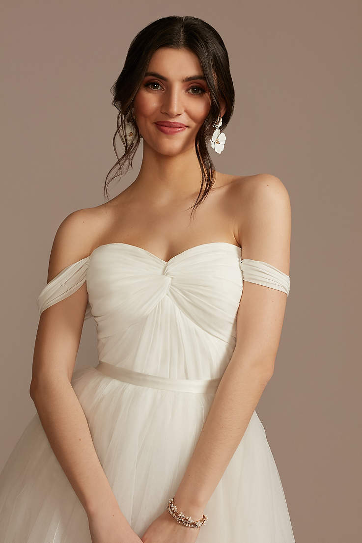 Cheap Wedding Dresses & Gowns Under $18   David's Bridal