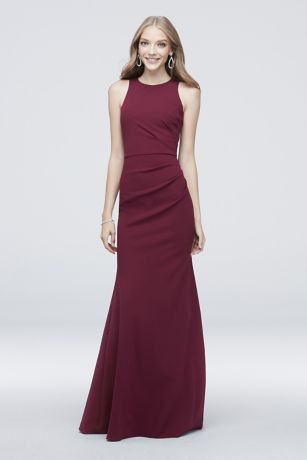 Long Mermaid/ Trumpet Sleeveless Dress - DB Studio