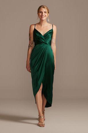 Midi Sheath Spaghetti Strap Dress - DB Studio