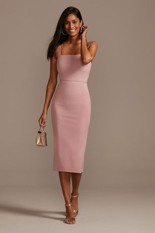 DB Studio Midi Bridesmaid Dress