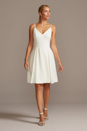 Soft & Flowy DB Studio Short Bridesmaid Dress