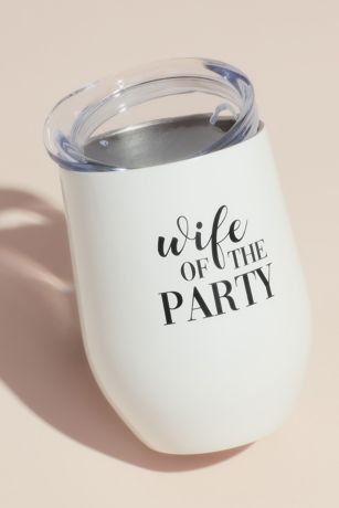 Wife of the Party Insulated Steel Wine Tumbler
