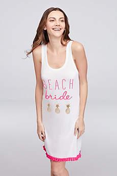 Beach Bride Cover Up