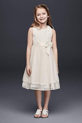Cheap Flower Girl Dresses   David\'s Bridal