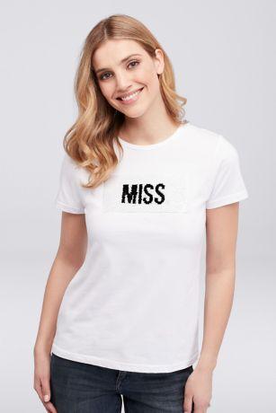 Miss to Mrs. Flip Sequin Tee