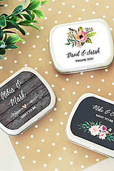 Personalized Floral Garden Mint Tins EB1049GDN