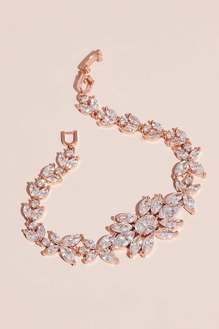 e278360a39f71 Bridal & Wedding Bracelets & Bangles | David's Bridal