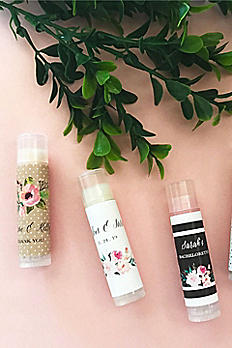 Personalized Floral Garden Lip Balm Tubes EB3031GDN