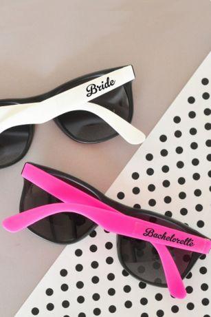 Bachelorette Party Sunglasses Set of 6