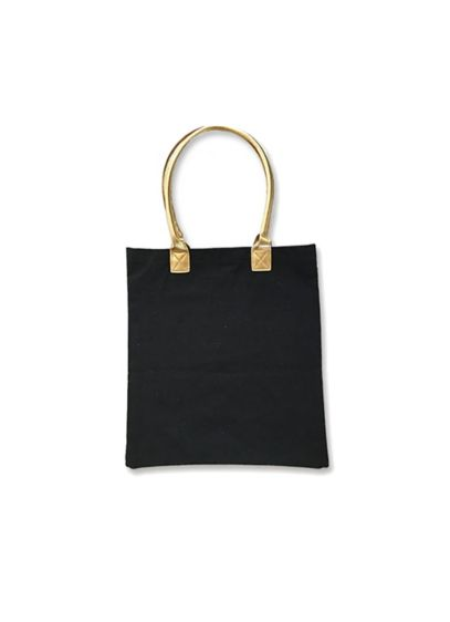 Gold Bridal Party Canvas Tote Bags Wedding Gifts Decorations
