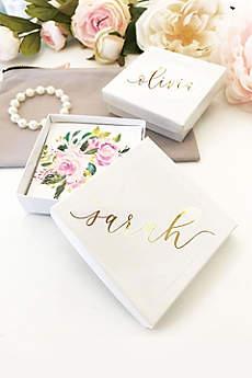 Personalized Jewelry Gift Box