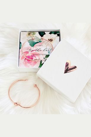 Tie the Knot Spring Floral Bracelets