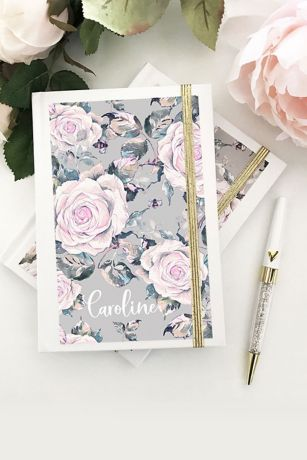 Personalized Rose Garden Journal