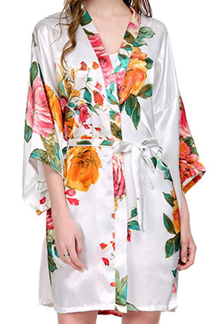 a7cd7f1edb Watecolor Floral Robes