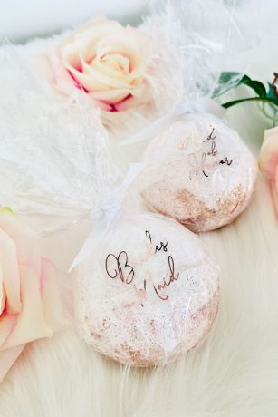 Bridal Party Proposal Glitter Bath Bomb