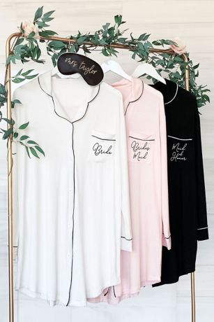 Bridal Party Sleep Shirts