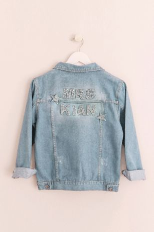 Sparkle and Star Personalized Jean Jacket