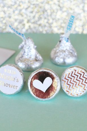 Personalized Metallic Foil  Labels Trio Set of 108