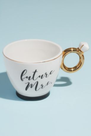 Future Mrs Engagement Ring Mug