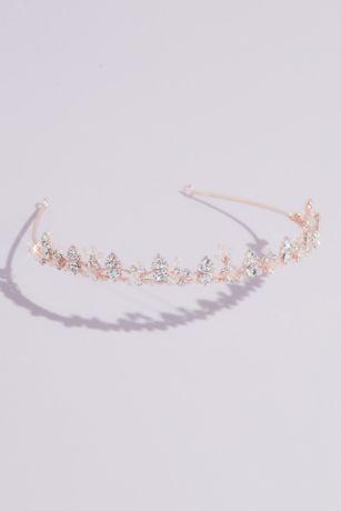 Dainty Crystal Wedding Tiara