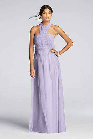Tulle Bridesmaid Dresses and Gowns | David\'s Bridal