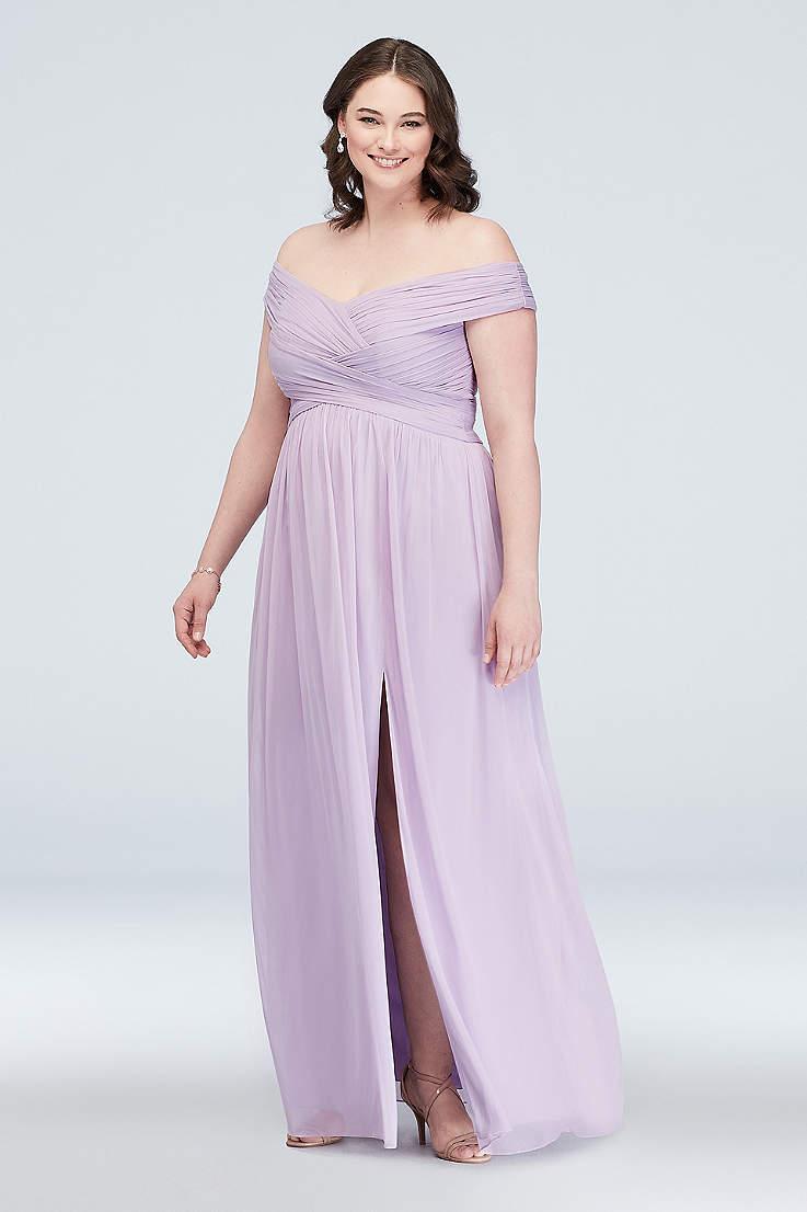 939661e0e3 Tall Bridesmaids Dresses Extra Length Dresses | David's Bridal
