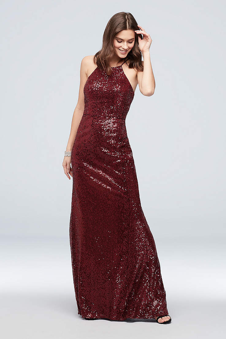 7578b369ed Sparkly, Sequin Prom Dresses in Glittery Colors   David's Bridal