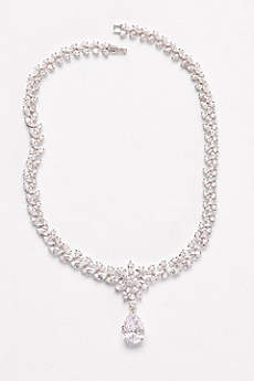 Extravagant Cubic Zirconia Collar Necklace