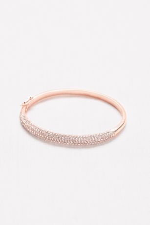 Pave Hinge Bangle
