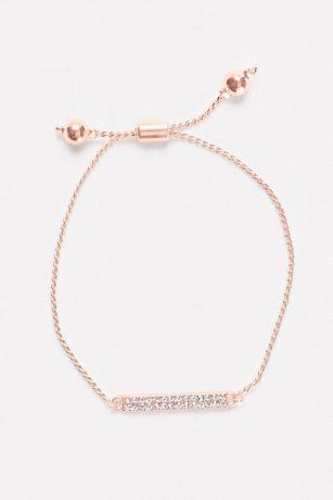 Pave Bar Pull Bracelet