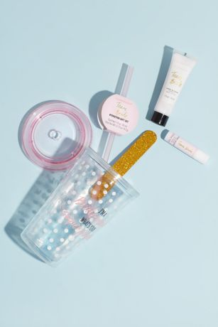 Team Bride Tumbler and Beauty Hydration Gift Set