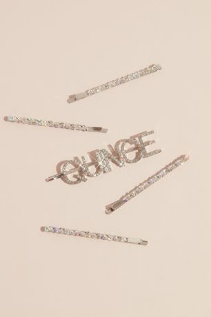 Crystal Quinceanera Hair Pin Set