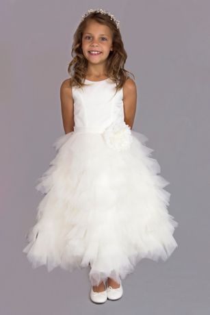 Tea Length Ballgown Tank Dress - US Angels
