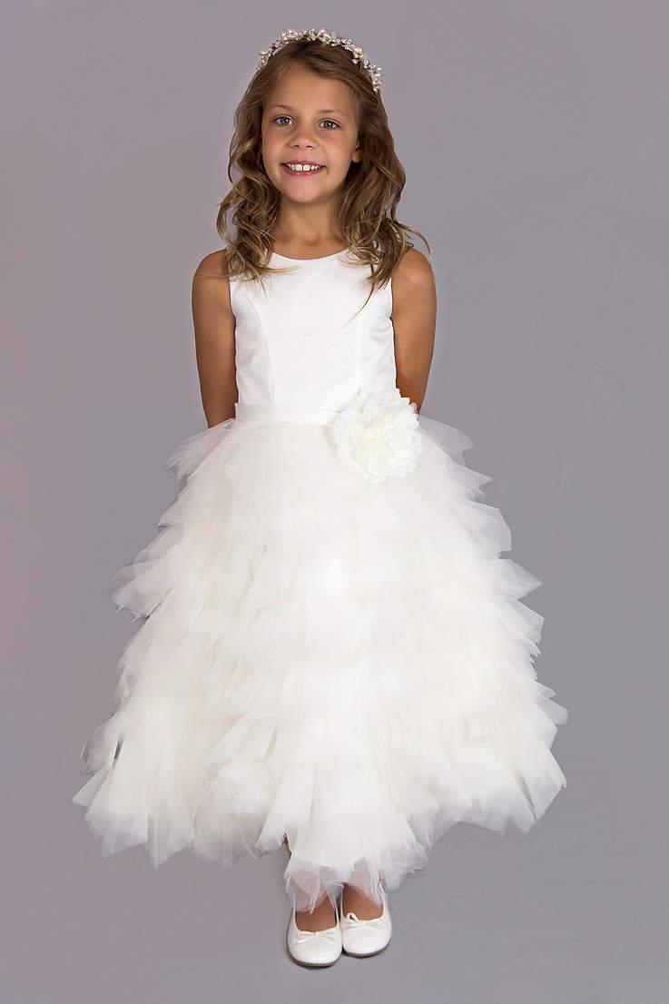 Flower Girl Dresses In Various Colors Styles Davids Bridal