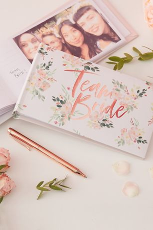 Team Bride Floral Photo Album