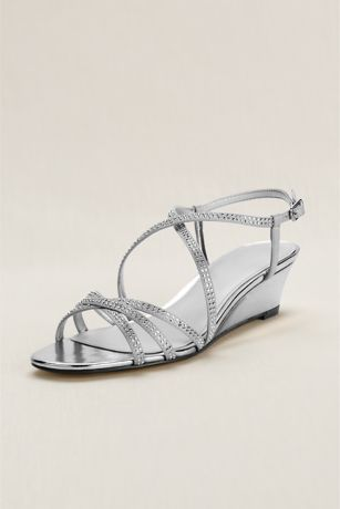 2b26304286c7f Touch of Nina Strappy Beaded Wedge Sandal