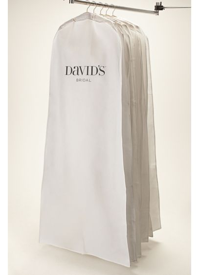 White Side Zip Garment Bag | David\'s Bridal