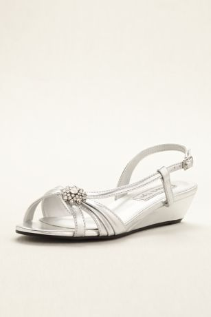 Geri Wedge Sandal by Touch Ups