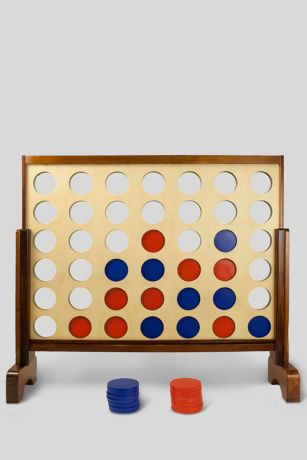 Giant Connecting Checkers Yard Game