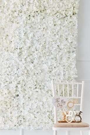 Faux Flower Wall Tile