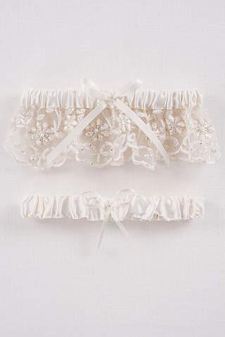 Bridal Garters Wedding Garter Sets In All Sizes David S Bridal