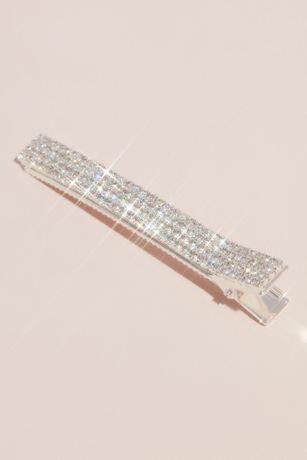Shimmering Rhinestone Hair Clip Set
