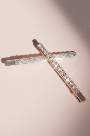 Slender Rhinestone Hair Pin Set