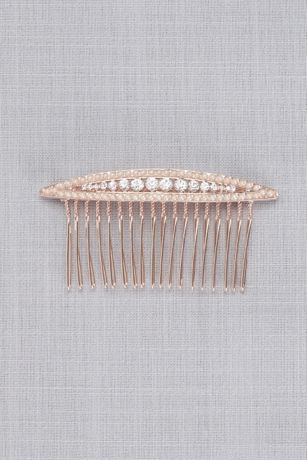 Navette Crystal Comb