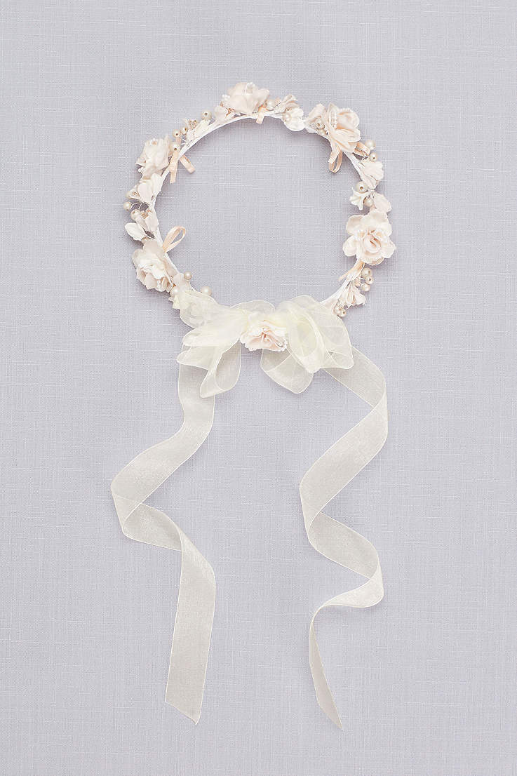 1f94f3ccd5 Flower Girl Accessories: Shoes & Baskets | David's Bridal