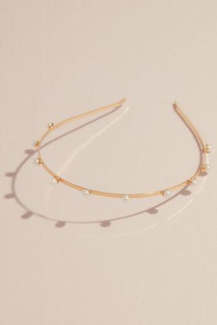 Spaced Pearl Headband