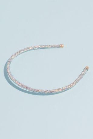 Iridescent Pave Crystal Embellished Headband